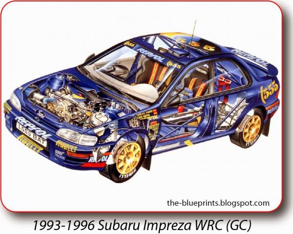 1993-1996 Subaru Impreza WRC (GC)